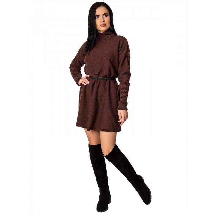 Платье70425(цвет Шоколадный)