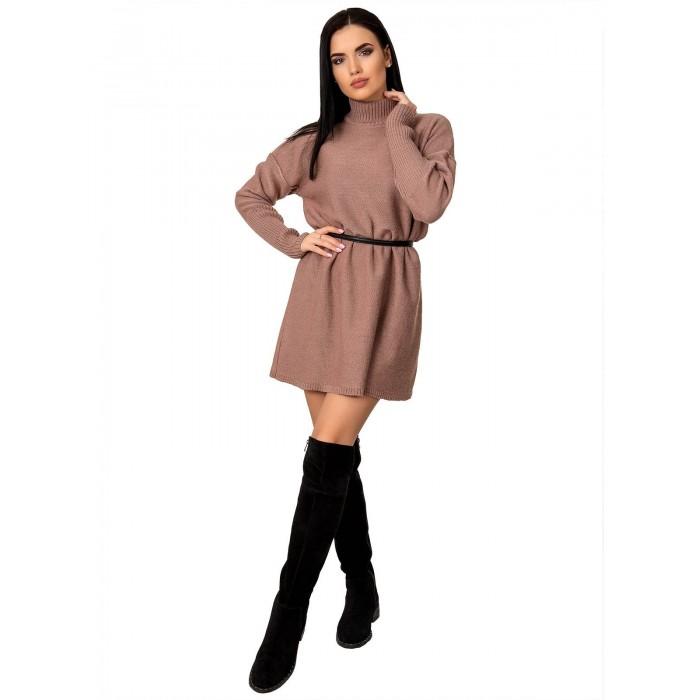 Платье70425(цвет Темный-Пудровый)