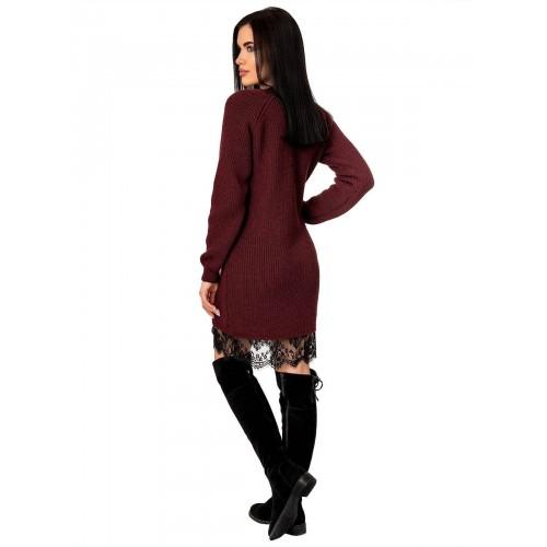Платье70428(цвет Бордовый)