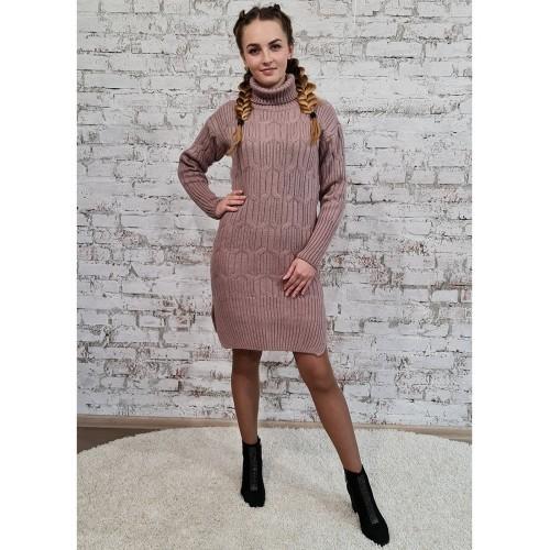 Платье70551цвет Пудровый