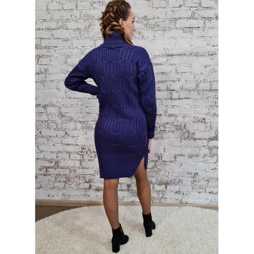 Платье 70551 цвет Фиолетовый
