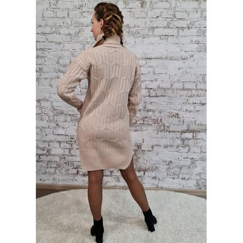 Платье 70551 цвет Кремовый