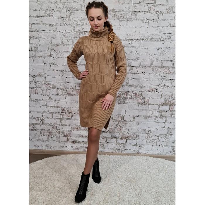 Платье 70551 цвет Карамельный