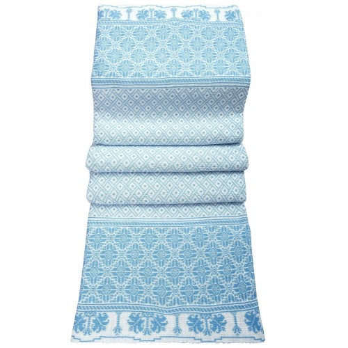 Плед Двухсторонний70446(цвет Голубой-Белый) размер200*200