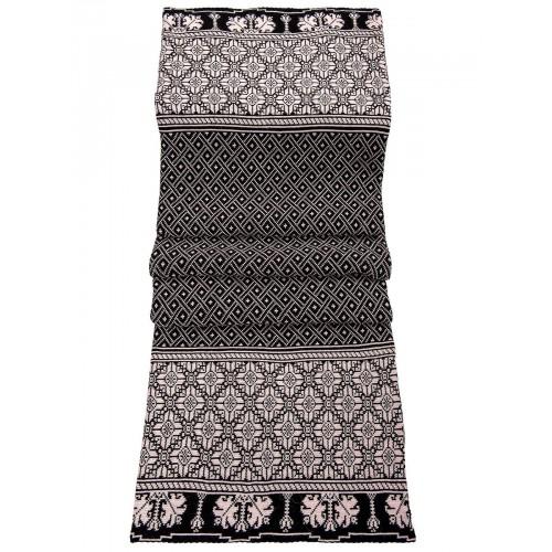 Плед Двухсторонний70446(цвет Светлая Пудра-Черный) размер200*200