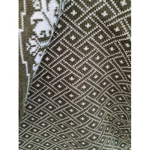 Плед Двухсторонний70446(цвет Хаки-Белый) размер200*200