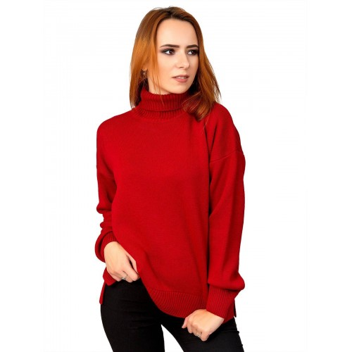 Свитер 12479 (цвет Красный)