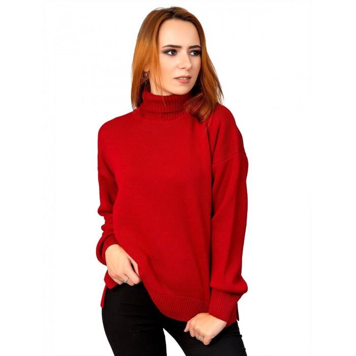Свитер12479(цвет Красный)