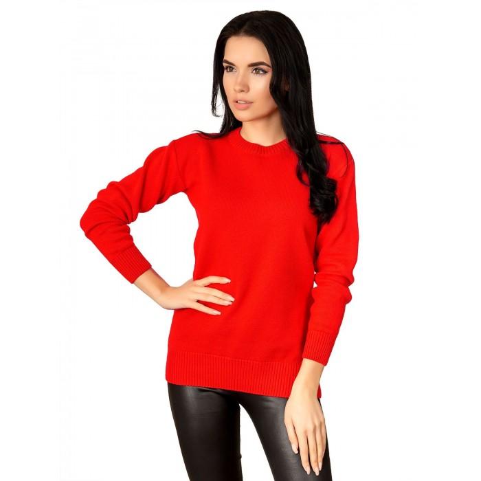 Свитер 12512(цвет Красный)