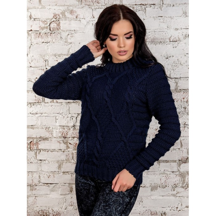 свитер30222(темно-синий)