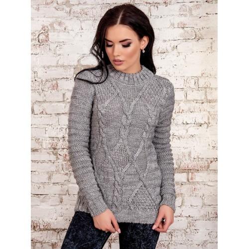 свитер30222(серый)