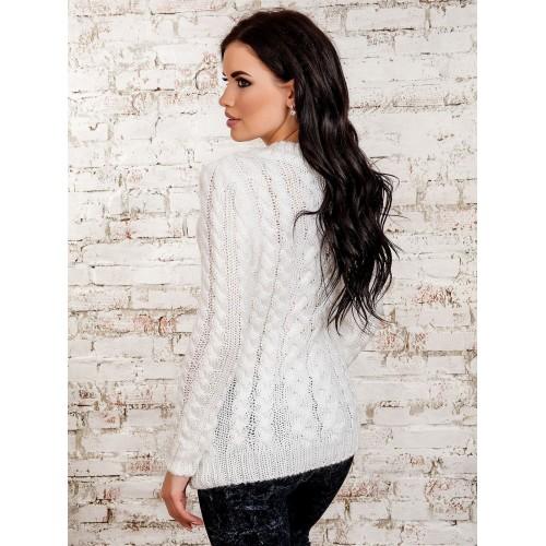 свитер30227(белый)