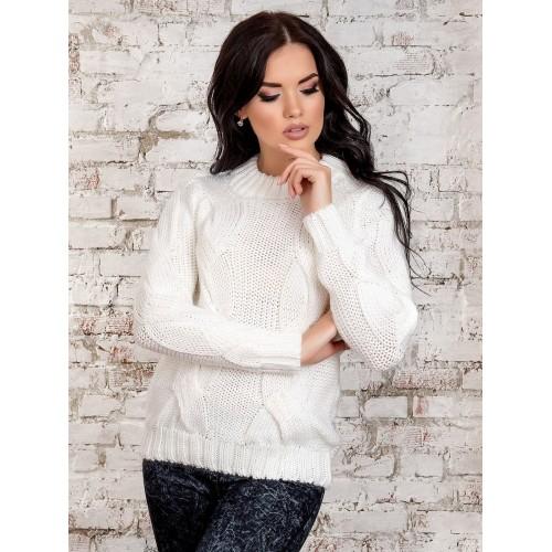 свитер30258(белый)