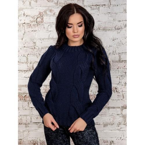 свитер30258(темно-синий)