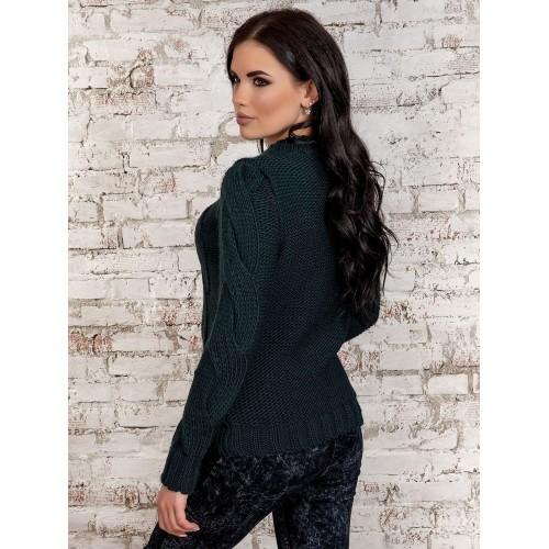 свитер30258(темно-зеленый)