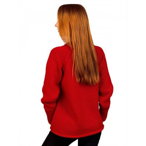 Свитер30478(цвет Красный)