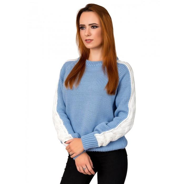 Свитер30481(цвет Голубой)