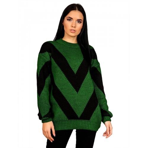 Свитер30495(цвет Зеленый)