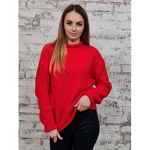 Свитер 30562 цвет Красный