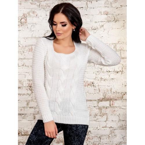 свитер50264(белый)