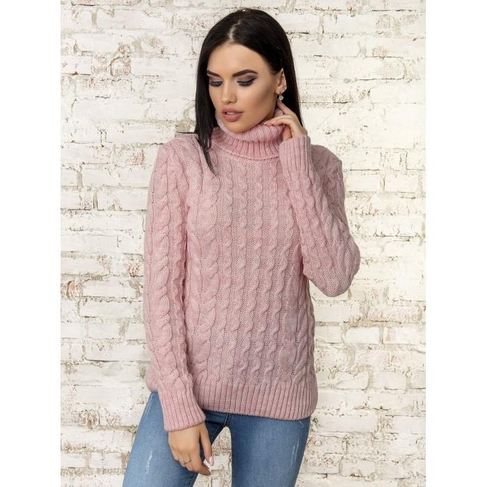 Свитер50312(цвет-Светло-Розовый)