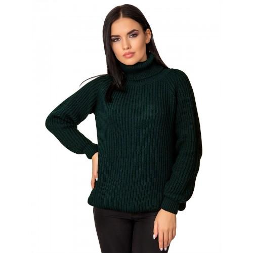 Свитер50405(цвет Темный зеленый)