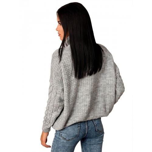 светр 50459 (колір Сірий)