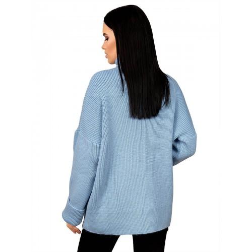 Свитер 50482(цвет Голубой)