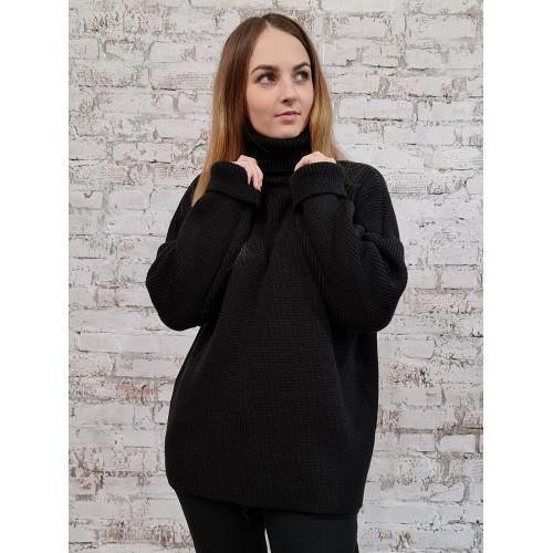 Свитер50482(цвет Черный)