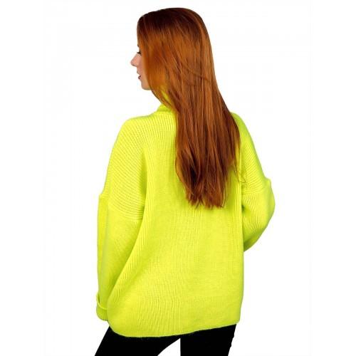 Свитер50482(цвет Ультро-Салатовый)