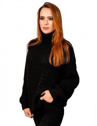 Свитер50489(цвет Черный)