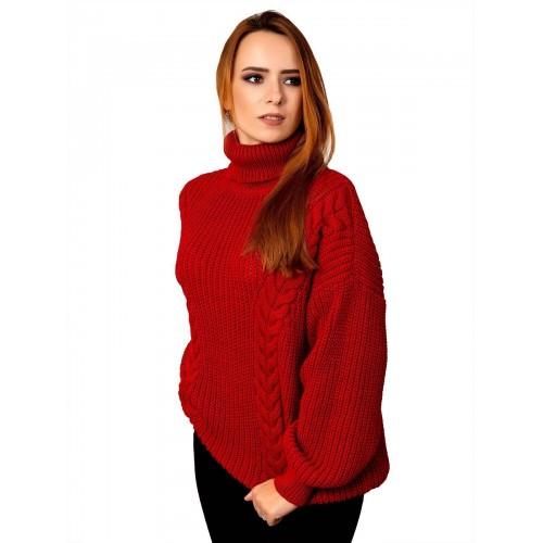 Свитер50489(цвет Красный)
