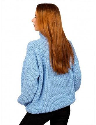 Свитер50489(цвет Голубой)