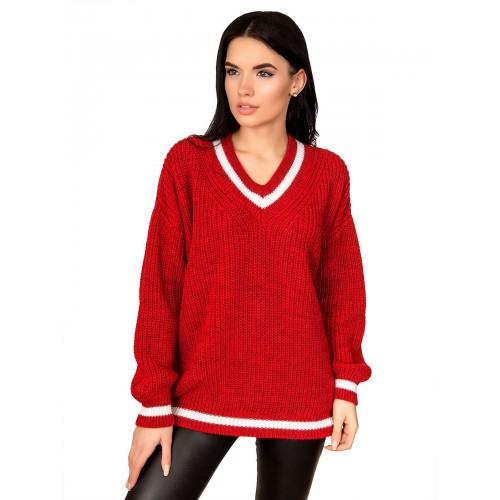 Свитер 50497(цвет Красный)