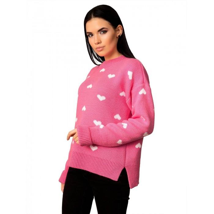 Свитер50498(цвет Розовый)