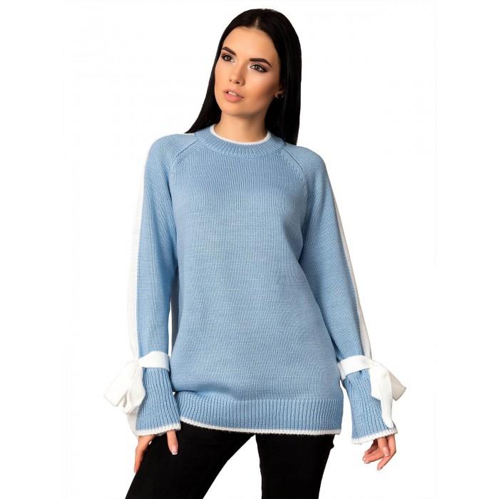 Свитер50501(цвет Голубой)