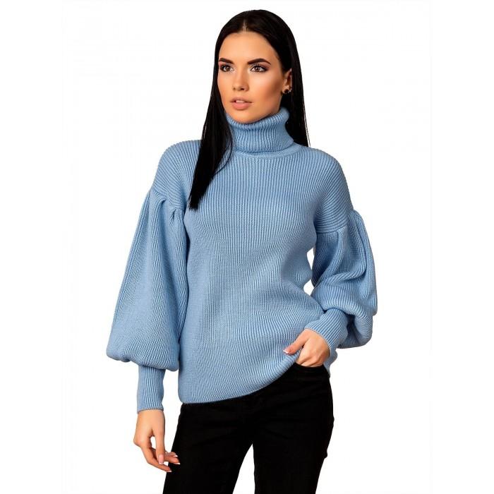 Свитер70477(цвет Голубой)