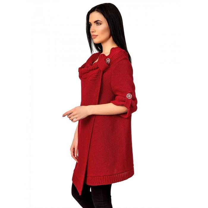 В'язаний верхній одяг: пальто і кардигани