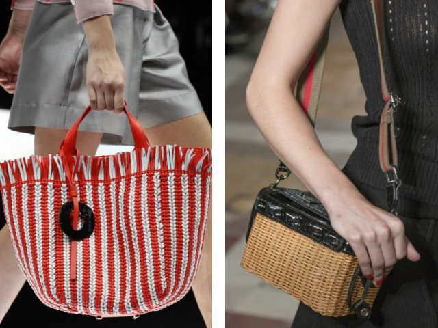 Модные сумки последней весенней коллекции